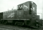 CB&Q NW2 #9232 in 1961